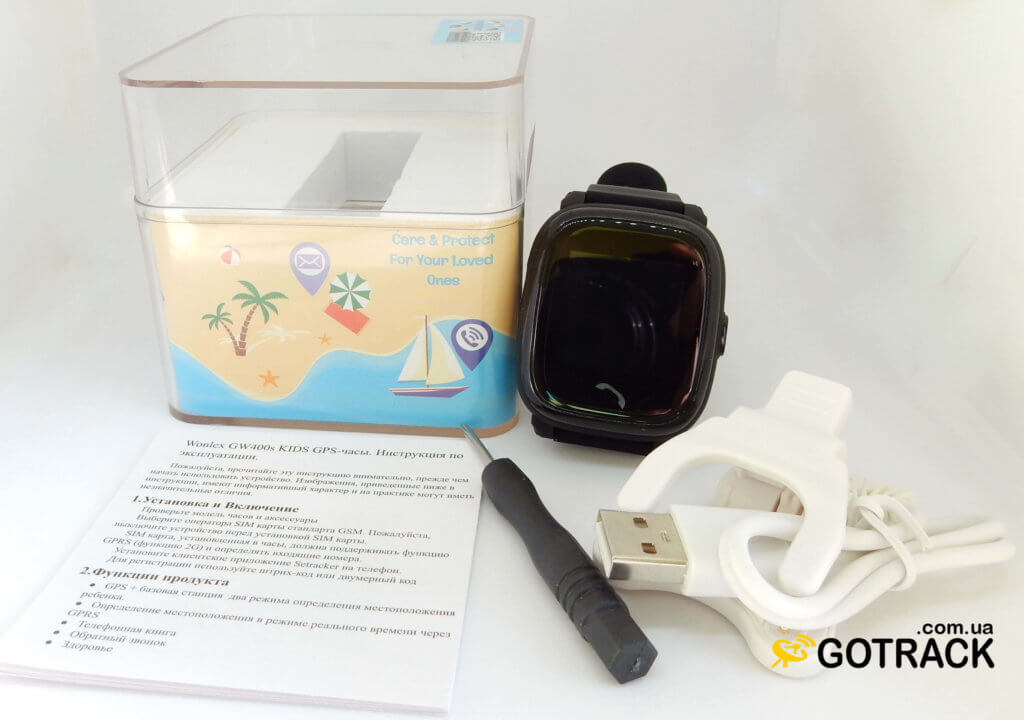 Комплектация Smart Watch WONLEX GW400S